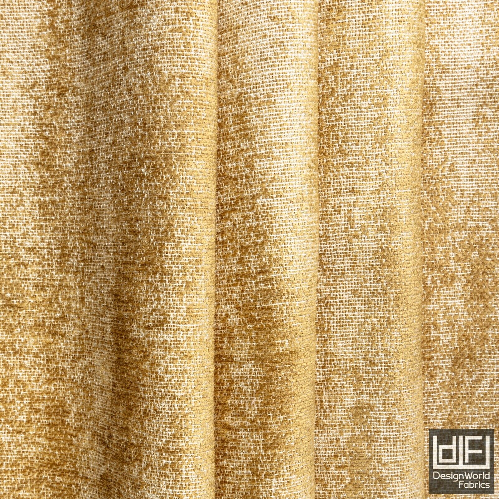 Camel Beige Curtain Fabric Textured Plain Chenille Soft Cushion Blind Material